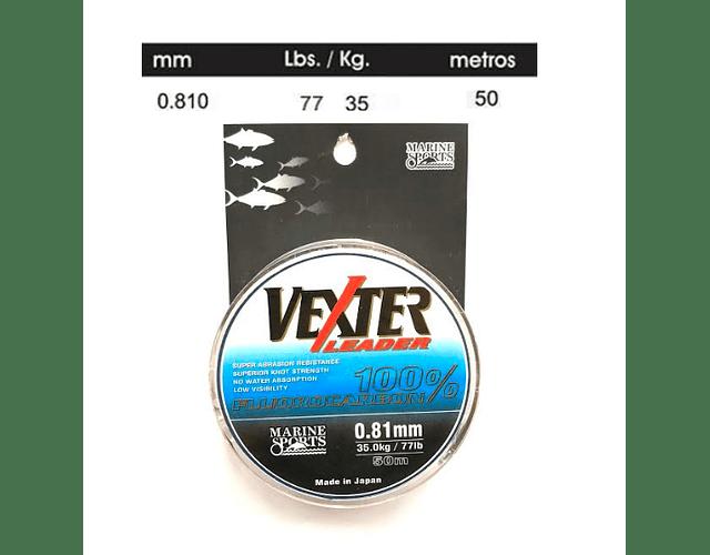 Linha de Fluorocarbon Marine Sports - Vexter Leader