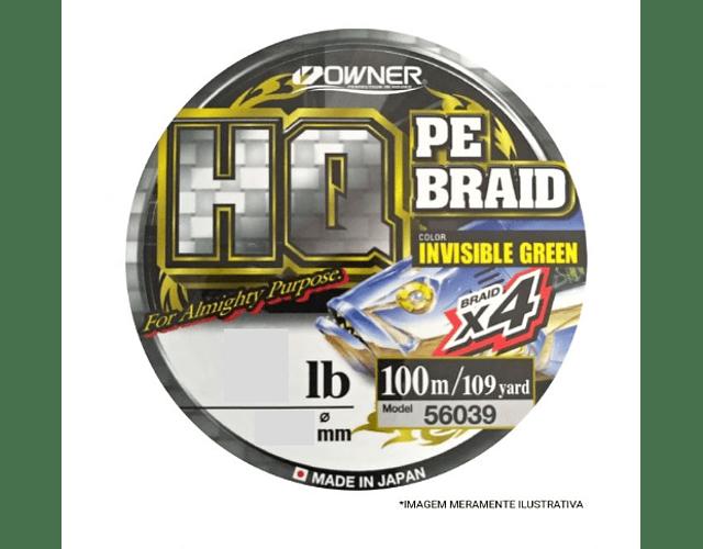 Linha de Multifilamento Owner - HQ PE Braid