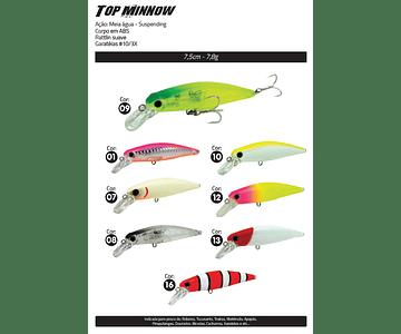 Isca Artificial Yara - Top Minnow 7,5cm