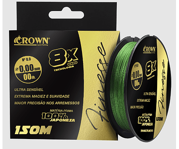 Linha de Multifilamento Crown - Finesse 8X