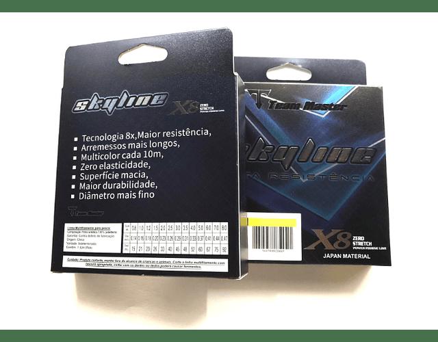 Linha de Multifilamento Team Master - Skyline X8