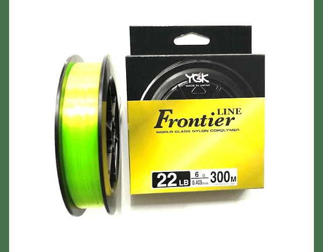 Linha de Monofilamento YGK - Frontier Line Yellow