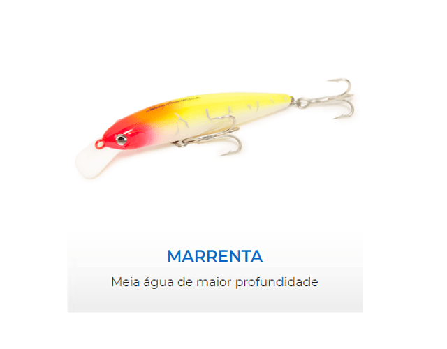 Isca Artificial Nelson Nakamura - Marrenta 90