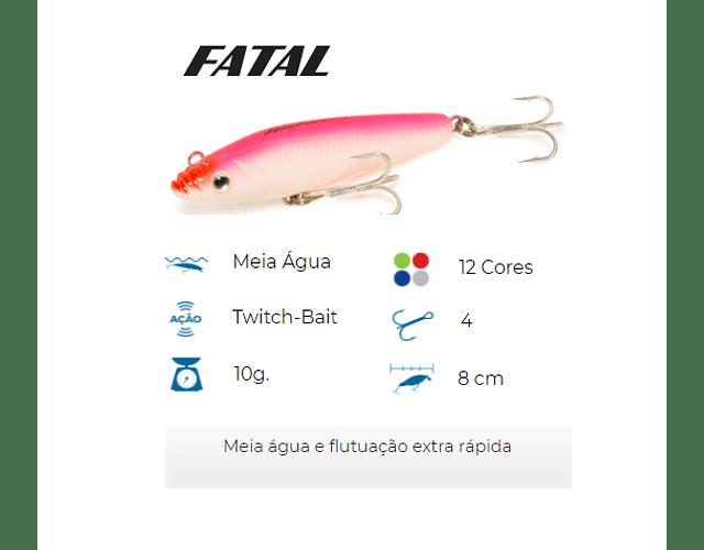 Isca Artificial Nelson Nakamura - Fatal 80
