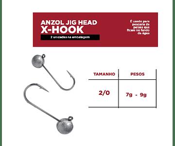 Anzol Jig Head Monster 3x - X-Hook