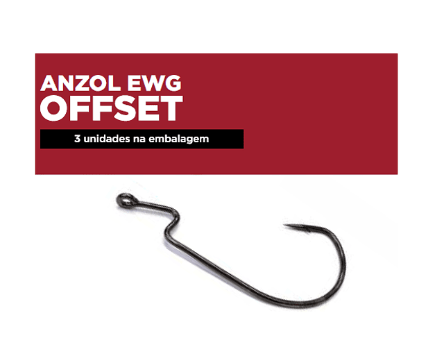 Anzol EWG Monster 3x - Offset