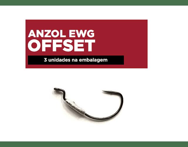 Anzol EWG Offset Monster 3x - Lastreado