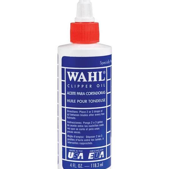 ACEITE MAQUINA 118.3 ML WAHL