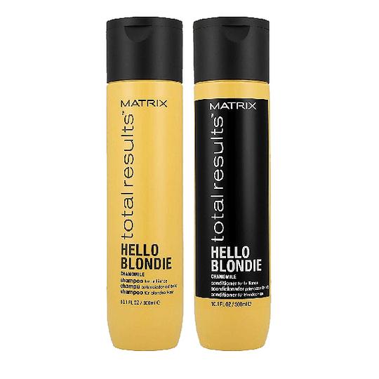 Pack Shampoo y Acondicionador Hello Blondie