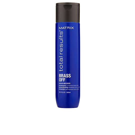 SHAMPOO BRASS OF MATRIX 300ML (MATIZADOR TONOS NARANJOS)