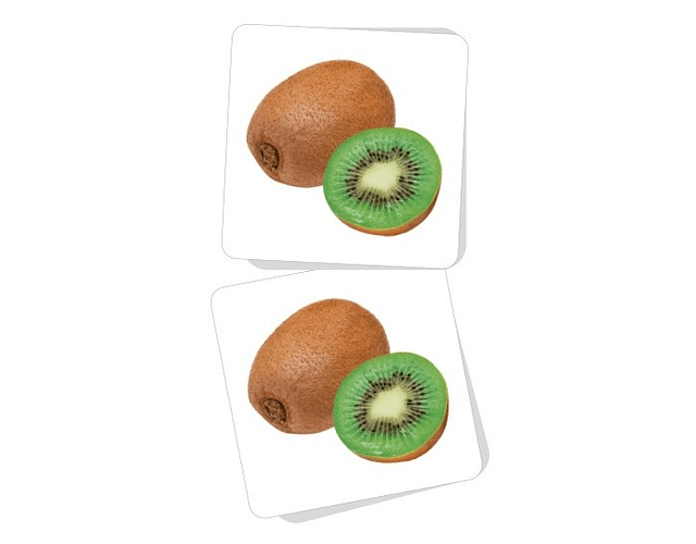 Memorice Frutas Cartón