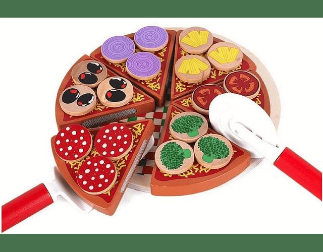 Pizza de Madera