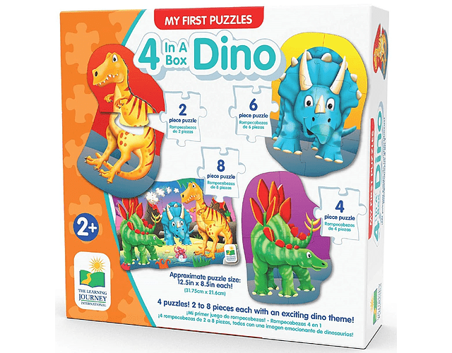 4 in a Box Dino