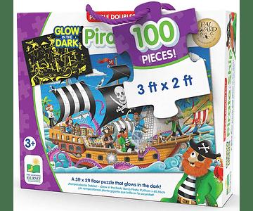 Pirate Ship Glow In The Dark