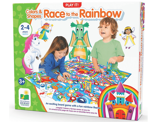 Play It! Colors & Shapes - Race To The Rainbow
