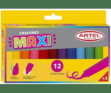 Crayón Maxi 12 Colores