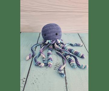 Medusa de Apego Azul