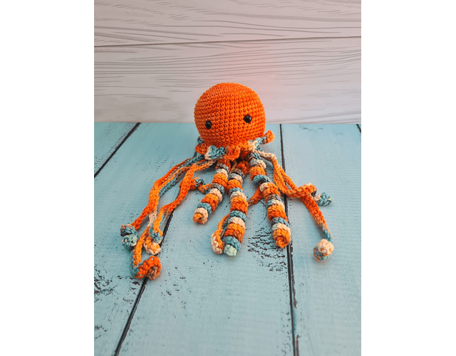 Medusa de Apego Naranjo