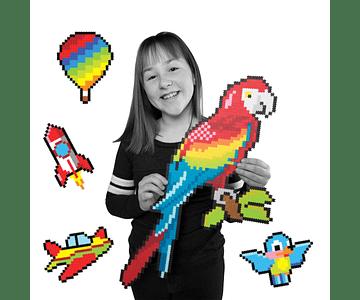 Puzzle de Pixeles - Up In The Air