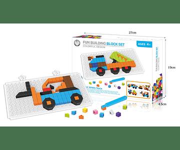 Mosaico Camiones 4 en 1