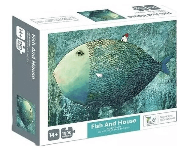 Fish and House