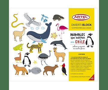 Divertiblock - Animales Que Habitan Chile