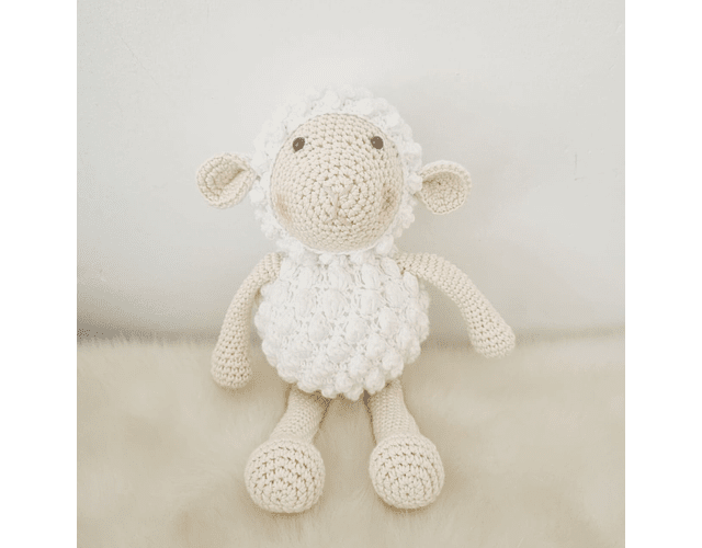 Amigurumi - Ovejita Blanca