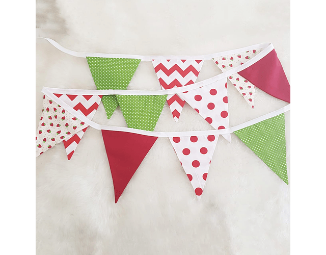 Banderines Verde/Rojo