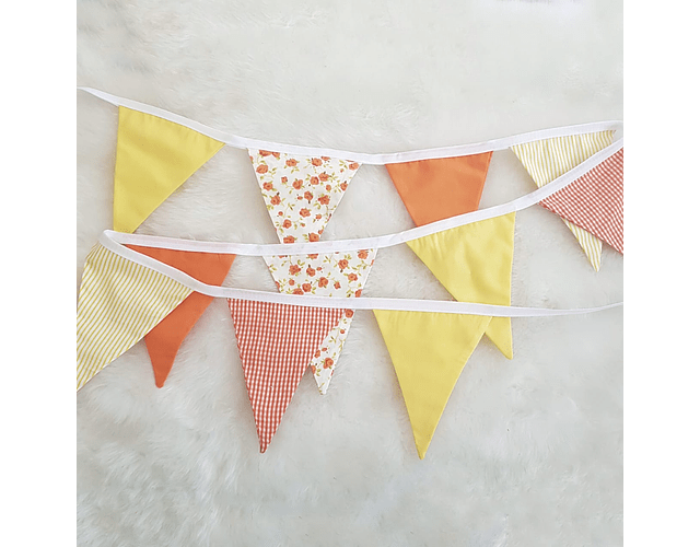 Banderines Amarillo/Naranjo