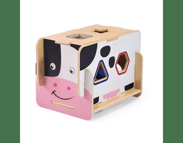 Caja de Encaje Armable Vaca