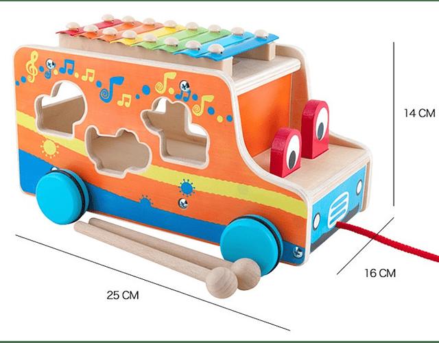 Camión Safari Encaje Madera