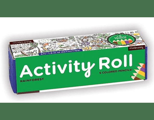 Activity Roll - Animales de la Selva