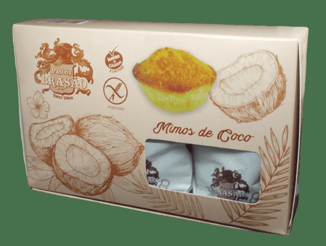 Mimos de Coco (Sem Glúten) - Caixa de 6 Unidades