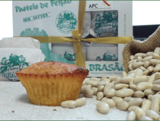 Pasteis de Feijão S/Gluten (Gluten Free Bean Cakes) - Box of 6 Units