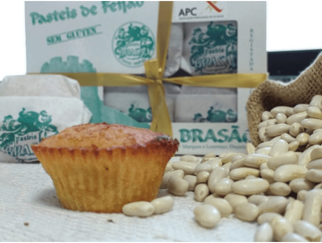 Pasteis de Feijão (S/Glúten) - Caixa de 6 Unidades