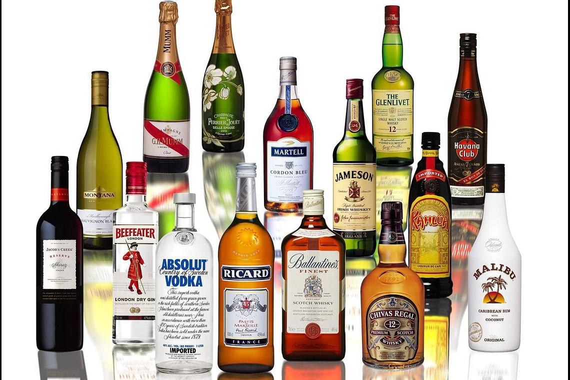 Licores, Vinos, Cerveza y Espumantes