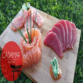 Sashimi Sake (4 o 6 cortes de Salmón fresco)