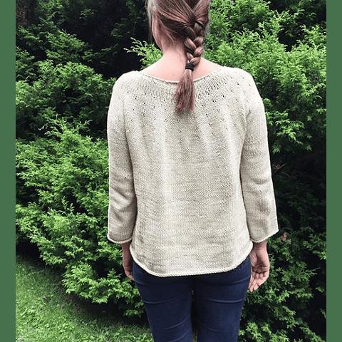 Patrón Sweater Teresita Adulto