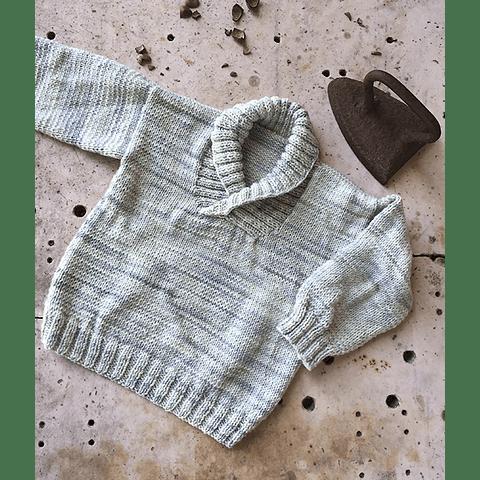 Patrón Sweater Cuello Vuelto Agustín