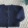 Chaleco Baby Alpaca Azul