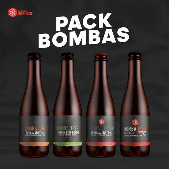 Pack Granizo Bombas