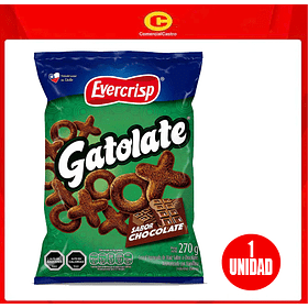Snack Gatolate 270 gas