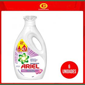 Detergente Ariel concentrado Downy 1.9L (6 Unidades)