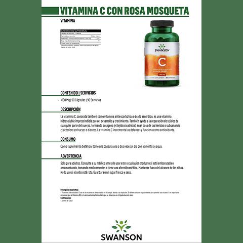 Vitamina C Swanson 2 unidades (180 cápsulas) Envio gratis, ver condiciones.