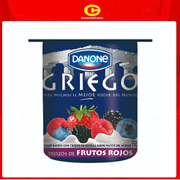 Yoghurt Griego Danone Trozos 110gr Variedades (10 Unidades)