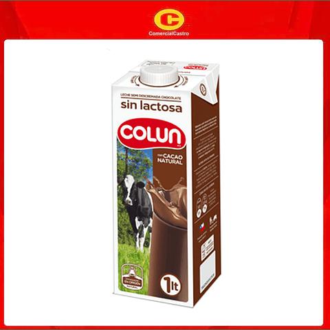 Leche Colun Sin Lactosa Lt Chocolate