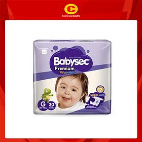 Babysec Premium G, 20 Unidades