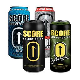 MIX Energética Score Energy Drink 500cc (24 Unidades) OFERTA DIECIOCHERA
