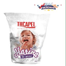 Harina de Arroz Tucapel 500 Gr (3 Unidades) OFERTA DIECIOCHERA