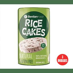 Galleta de Arroz Rice Cake Natural 100gr